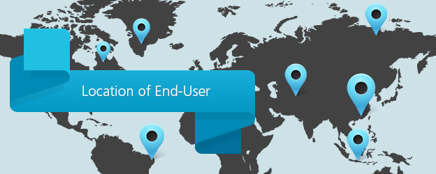 SMS Location of End-User